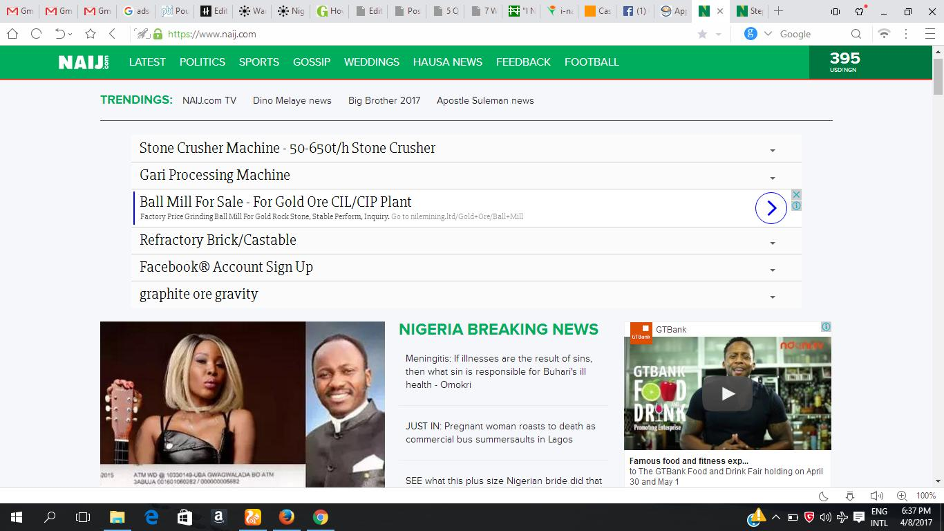 How much do NAIJ.com Earn Monthly?
