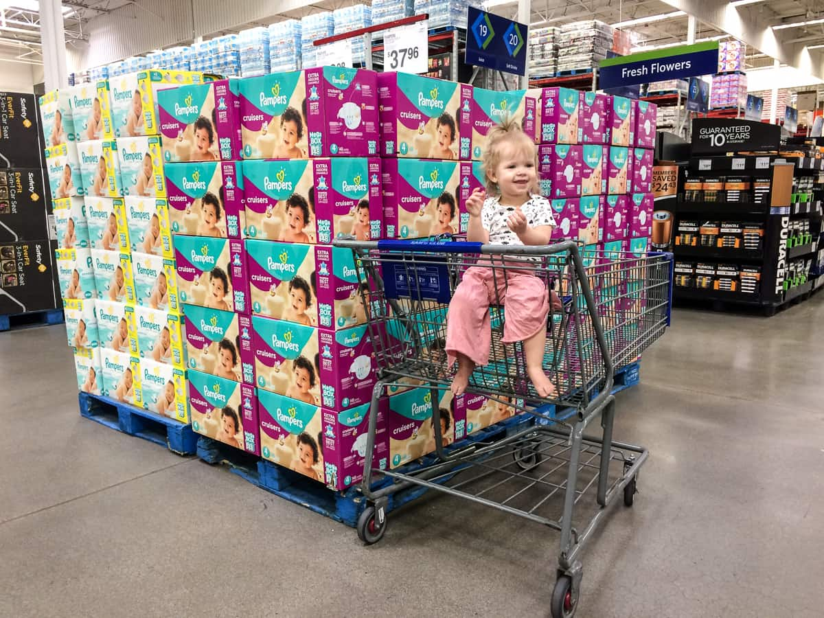 Pampers and Baby Items